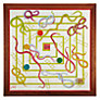 "Buy Jaques Snakes and Ladders 23"" Luxury Board Game Online at johnlewis.com"