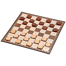 "Buy Jaques Draughts 15"" Board Game Online at johnlewis.com"