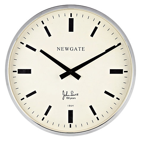 Buy Newgate Haberdashery Limited Edition Clock, Dia.45cm Online at johnlewis.com