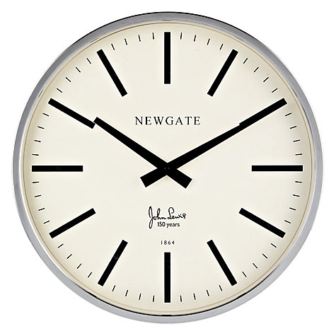 Buy Newgate Perfumery Limited Edition Clock, Dia.45cm Online at johnlewis.com
