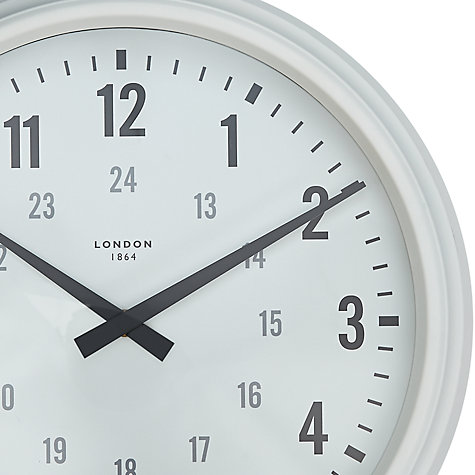 Buy John Lewis Croft Collection Carlisle Clock, Dia.36cm Online at johnlewis.com