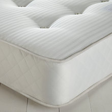 Buy John Lewis The Basics Pocket Firm Mattress, Single Online at johnlewis.com