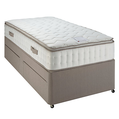 Buy John Lewis Pillow Top Pocket 2000 Mattress and Divan Set, Single Online at johnlewis.com