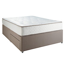 Buy John Lewis Double Spring 650 Mattress and Divan Set, Double Online at johnlewis.com