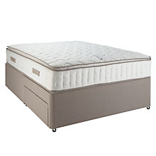 Buy John Lewis Pillow Top Pocket 2000 Mattress and Divan Set, Kingsize Online at johnlewis.com