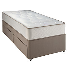 Buy John Lewis Double Spring 650 Mattress and Divan Set, Single Online at johnlewis.com