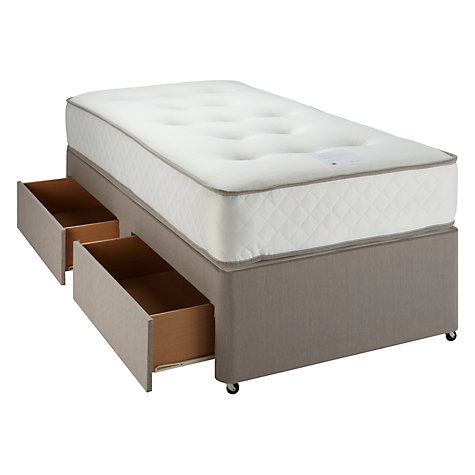 Buy John Lewis Memory Pocket 1000 Mattress and Divan Set, Single Online at johnlewis.com