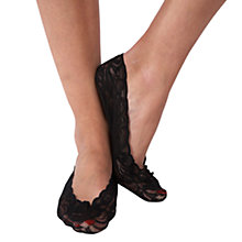 Buy Pretty Polly Lace Footsies Online at johnlewis.com