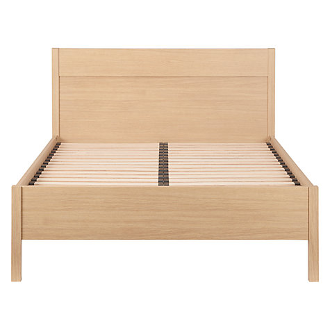 Buy John Lewis The Basics Bryn Bedstead, Double, Oak Online at johnlewis.com