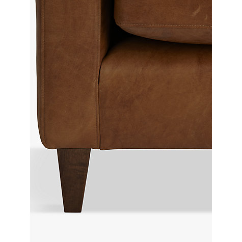Buy John Lewis Bailey Leather Snuggler, Lustre Cappuccino Online at johnlewis.com