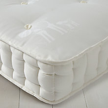 Buy little home at John Lewis Cotton 1200 Mattress, Single Online at johnlewis.com