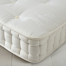 Buy little home at John Lewis Linen 3000 Mattress, Single Online at johnlewis.com