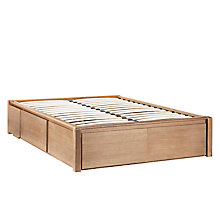 Buy John Lewis Montana Storage Bedstead, Double Online at johnlewis.com