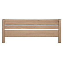 Buy John Lewis Montana Headboard, Double Online at johnlewis.com