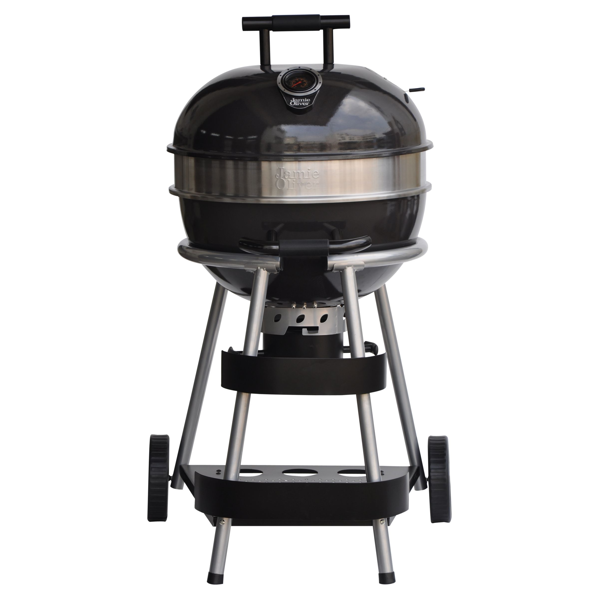 Jamie Oliver The Classic Charcoal Kettle Barbecue, Black