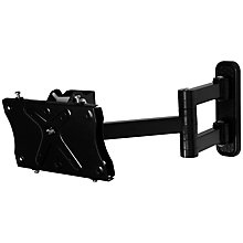 "Buy AVF UL204PB Fully Articulating Wall Bracket for TVs from 25 to 32"" Online at johnlewis.com"