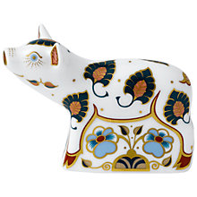 Buy Royal Crown Derby Percy Pig Paperweight, Multi Online at johnlewis.com