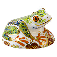 Buy Royal Crown Derby Frog Hop Paperweight, Multi Online at johnlewis.com