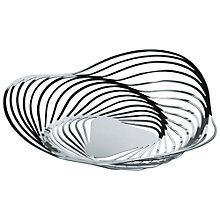 Buy Alessi Trinity Bowl, Silver Online at johnlewis.com