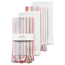 Buy Cath Kidston Safari Check Napkins, Set of 4 Online at johnlewis.com