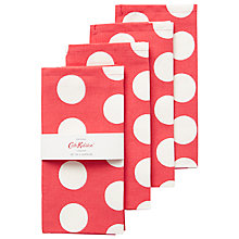 Buy Cath Kidston Big Spot Napkins, Set of 4 Online at johnlewis.com