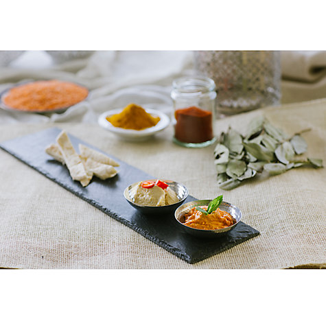 Buy Just Slate Duo Dipping Fusion Platter Online at johnlewis.com