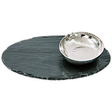 Buy Just Slate Oval Fusion Platter Online at johnlewis.com