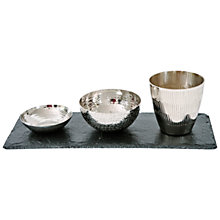 Buy Just Slate Mixed Fusion Serving Set Online at johnlewis.com