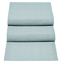 Buy John Lewis Croft Collection Elgin Runner, Light Blue Online at johnlewis.com
