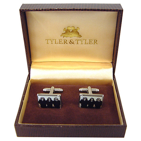 Buy Tyler & Tyler Three Wise Monkeys Cufflinks Online at johnlewis.com