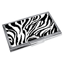 Buy Tyler & Tyler Zebra Business Card Holder Online at johnlewis.com