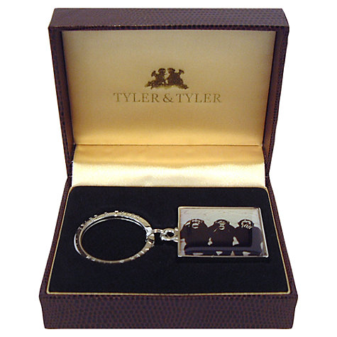 Buy Tyler & Tyler Three Wise Monkeys Keyring Online at johnlewis.com