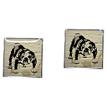 Buy Tyler & Tyler Barry Bulldog Cufflinks Online at johnlewis.com