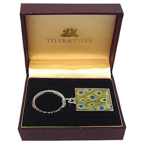 Buy Tyler & Tyler Peacock Keyring Online at johnlewis.com