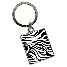 Buy Tyler & Tyler Zebra Keyring Online at johnlewis.com