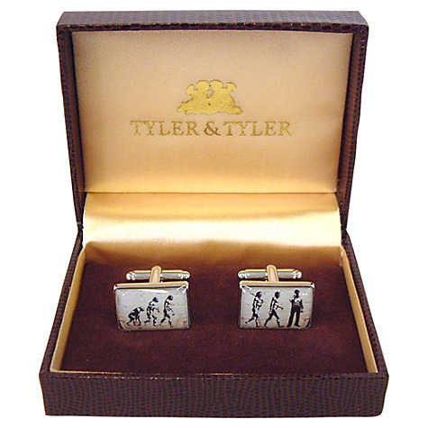 Buy Tyler & Tyler Evolution Cufflinks Online at johnlewis.com