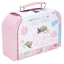 Buy Knit-It Baby Mice Kit Online at johnlewis.com
