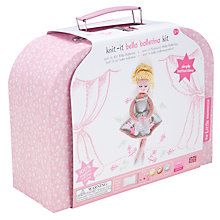 Buy Knit It- Bella Ballerina Kit Online at johnlewis.com