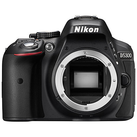 Buy Nikon D5300 Digital SLR Camera, HD 1080p, 24.2MP, Wi-Fi, 3.2