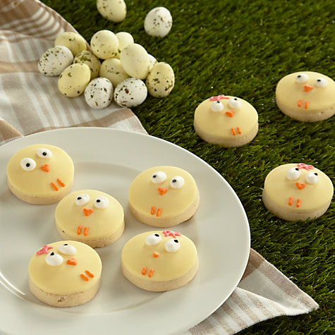 Buy Image on Food Mini Chick Cookies, Pack of 8 Online at johnlewis.com