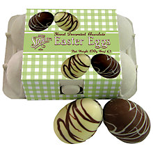 Buy Mr Stanley's Assorted Chocolate Easter Eggs, Box of 6 Online at johnlewis.com