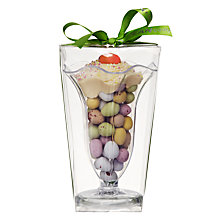 Buy Cocoa Bean Co Chocolate Eggs Sundae Glass, 180g Online at johnlewis.com