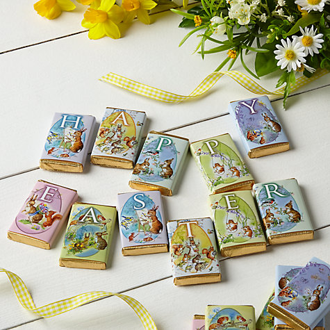 Buy House of Dorchester Milk Chocolate Spring Bunnies, Pack of 16 Online at johnlewis.com