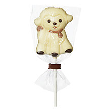 Buy Natalie Chocolates White Chocolate Lamb Lolly, 35g Online at johnlewis.com