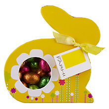 Buy Farhi Milk Chocolate Eggs in Bunny Box, 300g Online at johnlewis.com