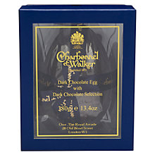 Buy Charbonnel et Walker Dark Chocolate Egg with Dark Selection, 380g Online at johnlewis.com
