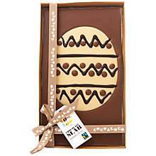 Buy Cocoa Loco Milk Chocolate Giant Egg Slab, 500g Online at johnlewis.com