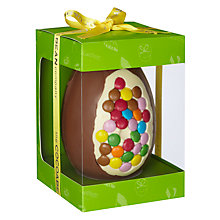 Buy Cocoabean Co Candy Beans Milk Chocolate Egg, 350g Online at johnlewis.com