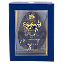 Buy Charbonnel et Walker Dark Chocolate Egg with Dark Selection, 185g Online at johnlewis.com