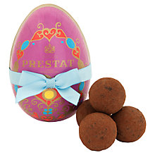 Buy Prestat Paper Egg with Pecan Praline Truffles, 75g Online at johnlewis.com